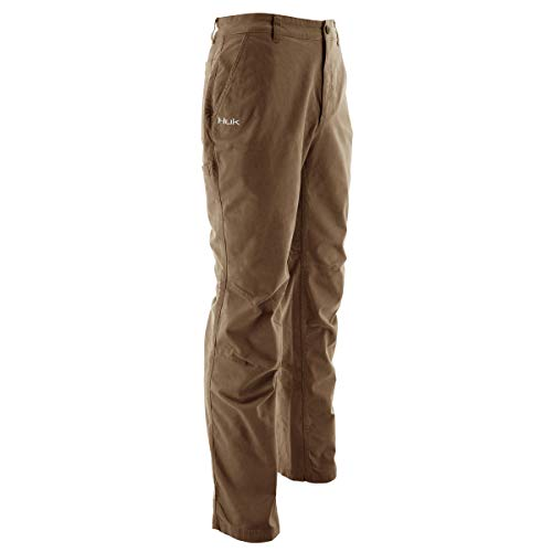 Huk Men's Trawler Pant, Bark, 40