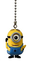 MINION yellow guys goggles Ceiling FAN Pull light chain (monocle One Eye goggle)