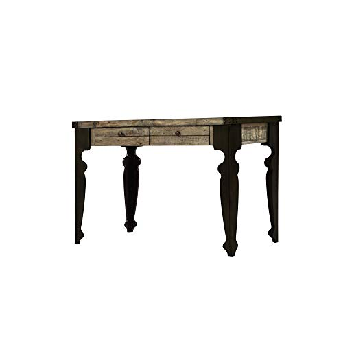 (Verona Desk in Natural Pine with Two Drawers And Plank Style Top, by Artum Hill)