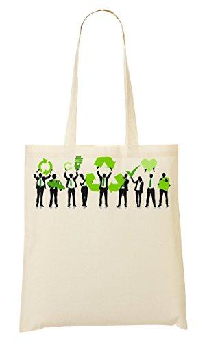 Recycle Bolso De Mano Bolsa De La Compra