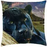 sun rays through a forest - Throw Pillow Cover Case (18