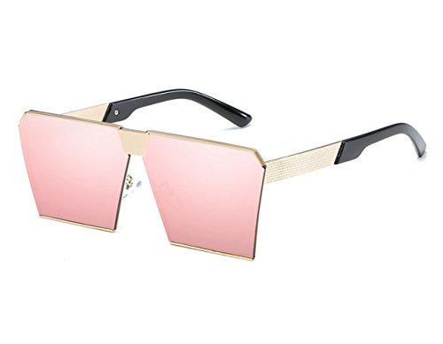 De Gafas Retro Gafas K Europa Tendencia Caja Espejo Sol De Grande Sol Viaje C Metal Moda De Conducción Playa zUZqZYxwtA