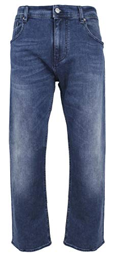 Armani Exchange Men's Five-Pocket Straight-Fit Stretch Jeans-MB-34S/C -(Approx. Inseam - Jeans Suits Armani