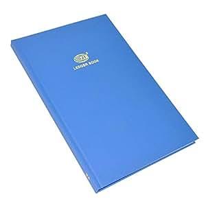 FIS Ledger Book, Azure Laid Ledger Paper, FS (210 x 330 mm) Size, 2 Quire - FSACLDC2Q73