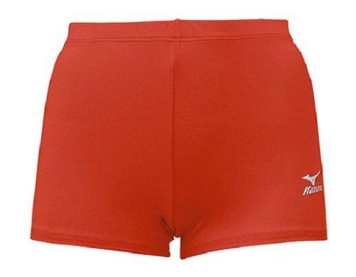 Mizuno Low Rider Volleyball Short, Cardinal, (Rider Low Rise Shorts)