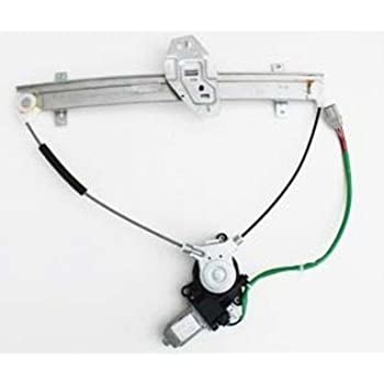 NEW FRONT LEFT WINDOW REGULATOR FITS 2007 2008 HONDA FIT WR49615 7552-6333L 7552-6333L 125-50168L 72250-SAA-G03 HO1350122 Replacement Parts Alternators & Generators