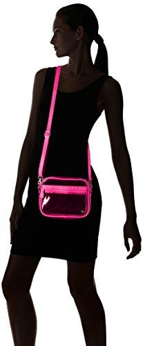 White Bag Camera Pink Neon Women's Crossbody Stephanie Miami Johnson WwtRfqRXY