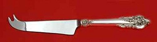 GRANDE BAROQUE BY WALLACE STERLING SILVER CHEESE KNIFE W/PICK HHWS CUSTOM 8 1/4