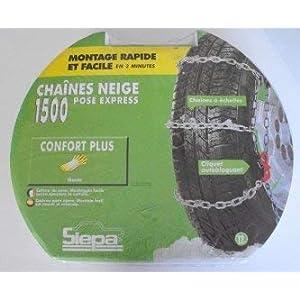 BeTech SIEPA N°2 Chaine Neige Pose Rapide pour Pneu 12″ 13″ Pouce TRX