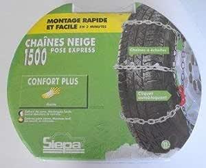 Siepa N ° 4 cadena nieve instalación rápida para neumáticos ...