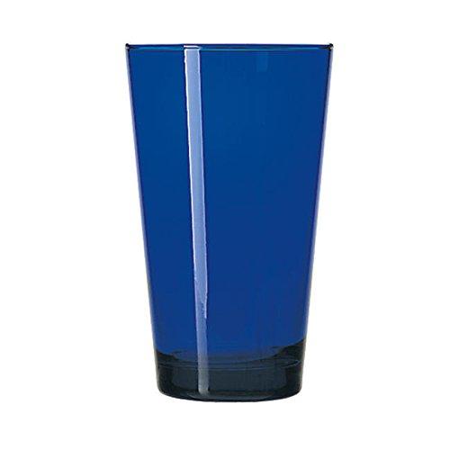 Flare Cooler Glass (LIB171B - Flare Cooler - Cobalt - 17.25 Ounce)