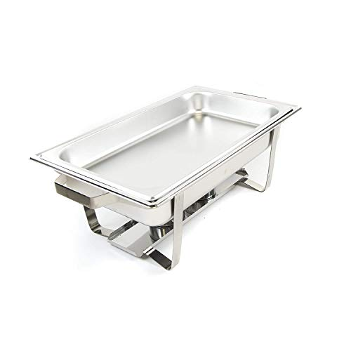 Alpha Living 8QT Chafing Dish High Grade Stainless Steel Chafer Complete Set by Alpha (Image #4)