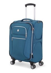 SwissGear Checklite 20'' Pilot Case Upright Luggage - Teal by Swiss Gear