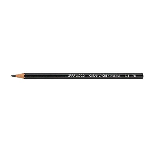 Caran d'Ache Grafwood Graphite Pencil, 7B (775.257)