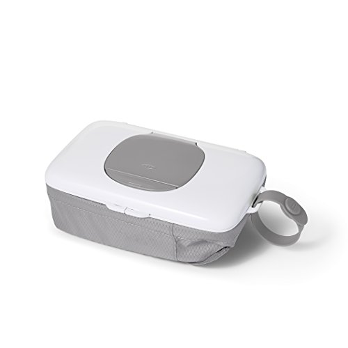 OXO Tot On-The-Go Wipes Dispenser with Diaper Pouch, Gray