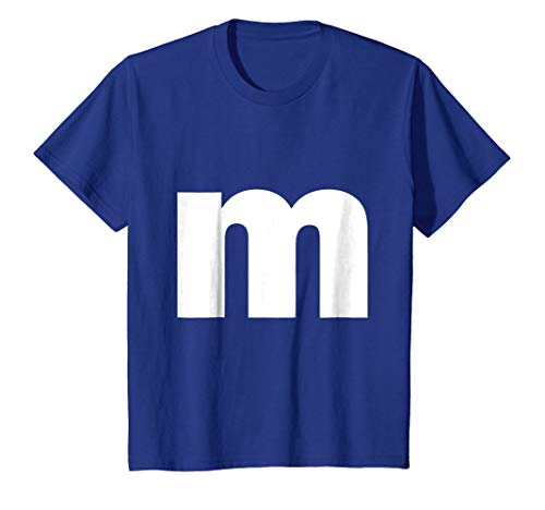 Letter M lower case alphabet spell words Initial tee shirt