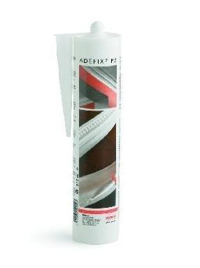 5 cartouches Adefix Colle pour corniches, moulures rosaces et poutres (polyuréthane et polystyrène) NMC