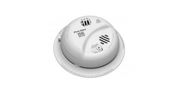 BRK Hd6135Fb 120 V hardwiredheat alarma w/recargable back-up-2pk: Amazon.es: Bricolaje y herramientas