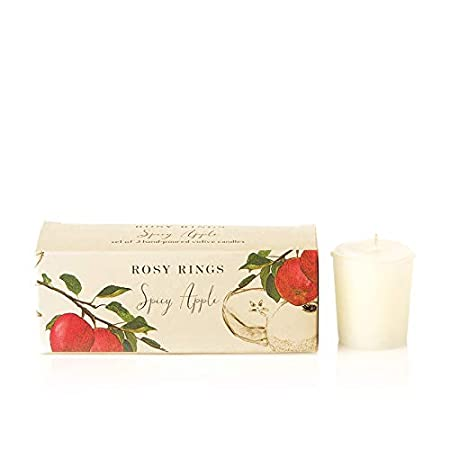 Rosy Rings Votive Gift Set Spicy Apple