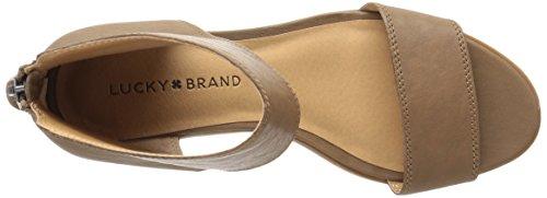 Brand Women's US Sesame Barbina LK Lucky Black Sandal 4CFqq