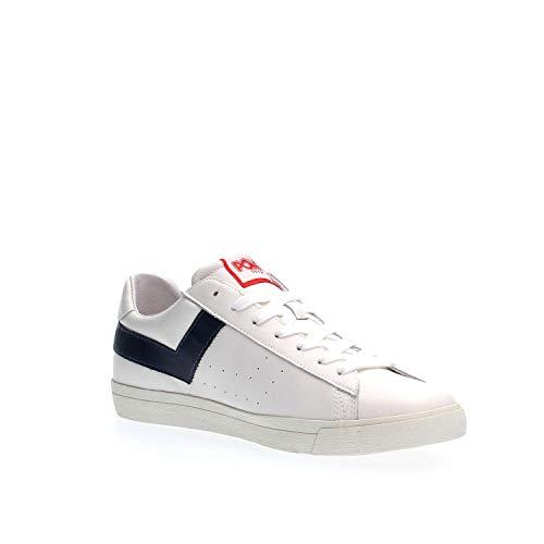 Dk3 634 blu Bianco Pony summer Navy Sneakers A White 2018 Pelle Uomo Spring xa5qttpwB