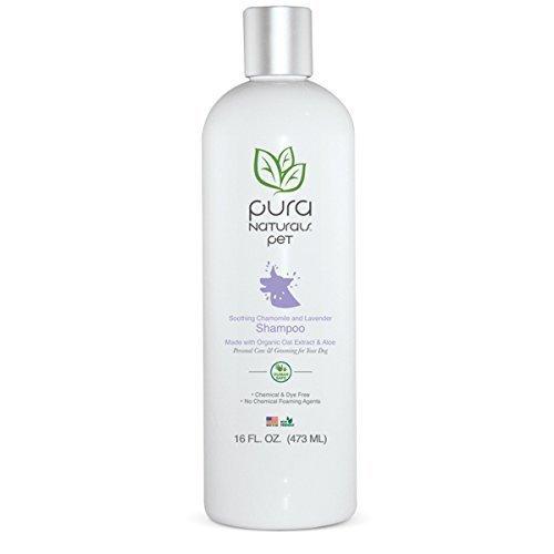 Pura Naturals Pet Organic Shampoo  Lavender Chamomile