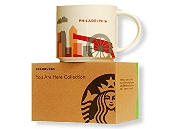Starbucks, You Are Here Collection, Philadelphia Mug, 14 Fl Oz (011023928)