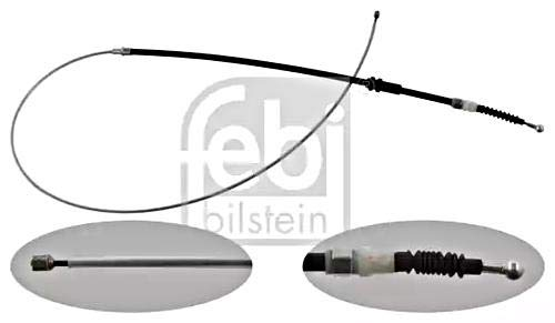 Parking Brake Cable Rear FEBI For VW Caddy III 04-15 2K5609721C