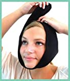 Face Caddy, Hot and Cold Therapy Wraps (BLACK) for