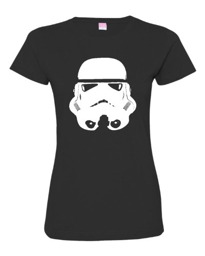 Womens Stormtrooper Silouette Deluxe T Shirt