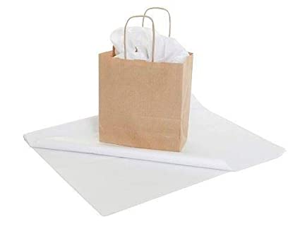 Priory Direct Papel de Seda en Blanco - Reciclable Biodegradable y ...