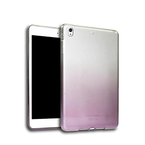 Price comparison product image Dreamyth Ultra Clear Transparent Soft Silicone TPU Case Cover For ipad Pro 10.5 Inch Table (Wine)