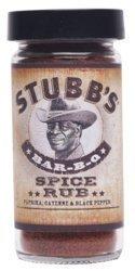 Stubb's Original Bar-B-Q Spice Rub 3.5oz (Pack of 3) BBQ