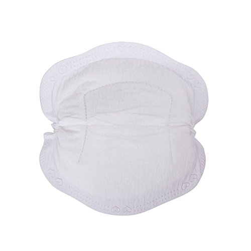 Nursing Pads Ultra Soft Disposable Breast Pads for Breastfeeding Mothers Dry Leak Breast Nursing Pads Protection 24PCS from Woohtory