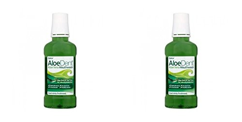 (2 PACK) - Aloe Dent Aloe Vera Mouthwash | 250ml | 2 PACK - SUPER SAVER - SAVE MONEY