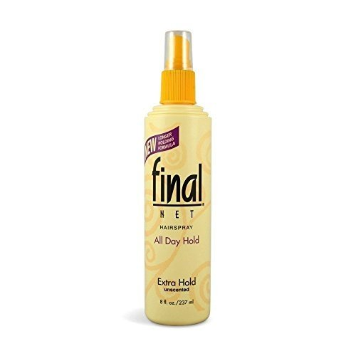 Final Net Hairspray All Day Hold Extra Hold Unscented 8 oz (Spray Net)
