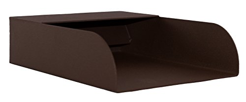 Mosegi 6'' Rectangular Water Spout Scupper Spillway for Pools Ponds Fountains Brown Bronze by Majestic Water Spouts