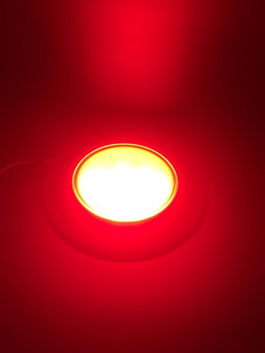 Marine Boat Navigation Side Light Pair Tear Drop Red Green SS304 12V Flush Mount