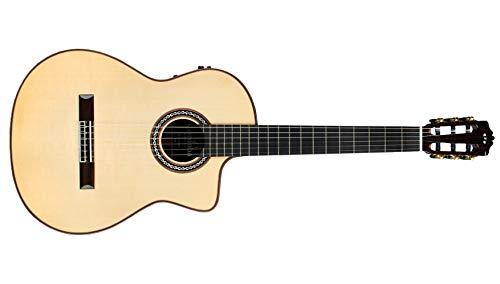 Cordoba GK Pro Negra [Gipsy Kings Signature Model] Acoustic Electric Nylon String Flamenco Guitar