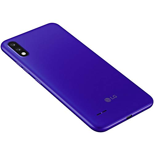 "LG K22+ Plus (64GB, 3GB) 6.2"" HD+, Dual Camera (US+LATIN 4G LTE Only) GSM Factory Unlocked International Model LM-K200HAW (Blue, W/ 64GB SD Bundle)"