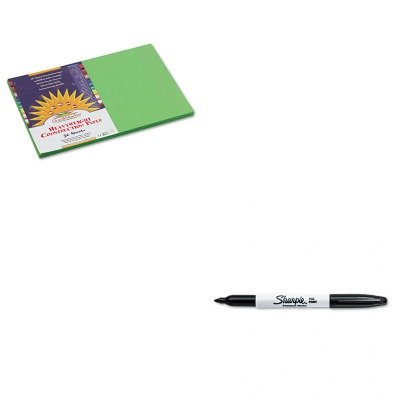 Price comparison product image KITPAC9607SAN30001 - Value Kit - Sunworks Construction Paper (PAC9607) and Sharpie Permanent Marker (SAN30001)