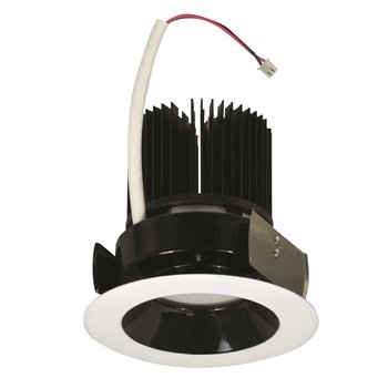 Nora Lighting NRM-411L1235WW 4 in. Marquise Reflector, 1250Lm, 3500K, White, White Flange (Nora Lighting 4