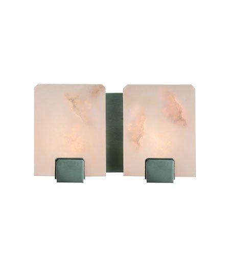 - Hudson Valley 6292-OB, Lake Grove Glass Wall Vanity Lighting, 2 Light, 100 Watts Halogen, Bronze