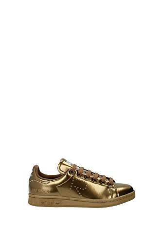 S75937RAFSIMONSSTANSMITH Adidas Sneakers Mujer Piel Oro Oro