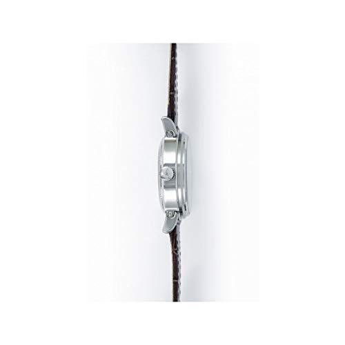 ARBUTUS herrklocka/klockor för män med brunt läderarmband – mekaniskt armbandsur – mekaniskt urverk – automatiskt urverk utan batteri/brun/läder/märkesklockor