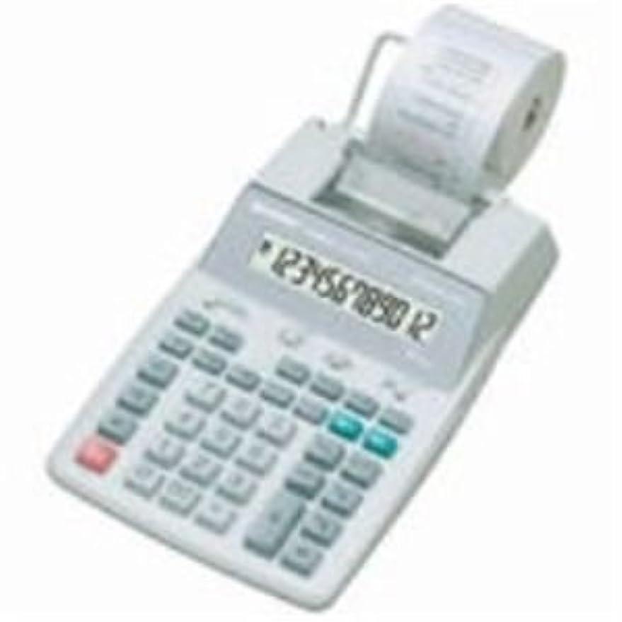 感性避難カタログdr-210tm 2色デスクトップ電卓、12桁ニキシー管、ブラック/レッド