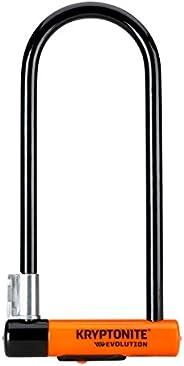 Kryptonite Evolution Series-4 LS Heavy Duty Bicycle U Lock Bike Lock with Transit FlexFrame Bracket (4-Inch x
