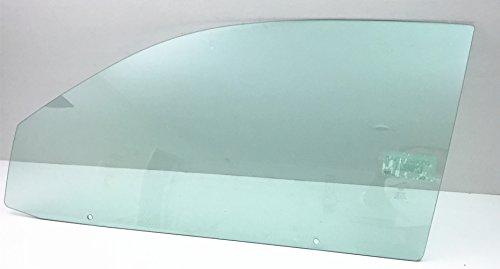 Cavalier Door (TYG Fits 1995-2005 Chevrolet Cavalier 2 Door Coupe Driver Left Front Front Door Window Glass)