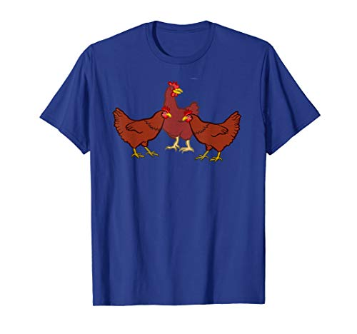Three French Hens T shirt 12 Days of Christmas