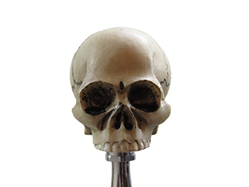 (No Jaw Skull Head Shifter Shift Knob Rat Rod Lever)